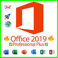 Microsoft Office Professional Plus 2019 🔑Licence Key Product ⚡ Fast Delivery