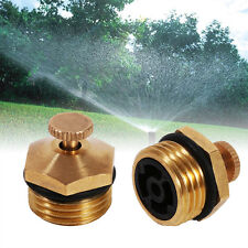 5x Brass Drip Agricultural Sprayer Fountain Nozzle Garden Lawn Sprinkler Head EB