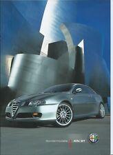 Alfa Romeo GT Sportiva Collezione Blu Q2 Brochure Prospekt Excellent 2007