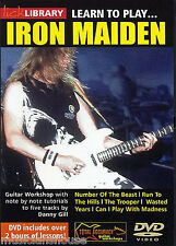 LICK LIBRARY Learn to Play IRON MAIDEN Number of the Beast Rock Tutor GUITAR DVD