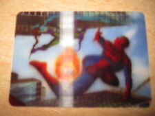 CARTE MARVEL CARDS FRENCH FROM BN 3-D SPIDER-MAN 7/8 3D CARTE FRANCAISE