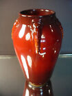 Scarce Roseville Art Pottery Art Deco Red Topeo Vase Shpe 657 Arts & Crafts 1934