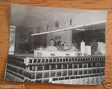 "VINTAGE 1950s Diner counter Coke Ice cream cones photo 3"" Lot H7"