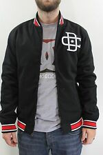 New DC SHOES Mens Dyrdek Stadium 3 Zip Jacket M Medium Black Red White BW1