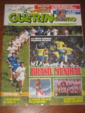 GUERIN SPORTIVO=N°29 1989=MAXIPOSTER MILAN CAMPIONE D'EUROPA/GEOVANI ROSSOBLU