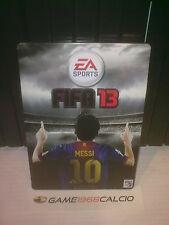 FIFA 13 STEEL BOX MESSI LIONEL PS3 XBOX 360 PC NEW METALLIC BOX EXCLUSIVE