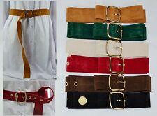 Fashion 3.5cm Wide Multi-Color Golden Pin Buckle Pendant  Woman Waist Belt BH2