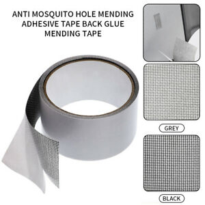2m Insects Screen Patch Repair Kit Mosquito Window Net Sticky Mesh Roll Tape