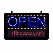 Alpine Industries 22 x 13 LED Programmable Message Board Business Open Sign