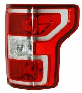 Passenger Right Taillamp Assembly Bulb Type fits 2018 2020 Ford Pickup F150