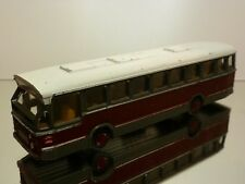 LION CAR 38 DAF CITYBUS - RED GREY WHITE 1:50 - GOOD  CONDITION