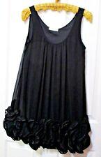 Ladies Vangelica black sleeveless top size Medium