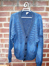 Strickjacke in blau von Paco Calvari Gr 46/48