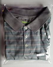 Men's David Taylor 2XLT Stripped 3 Button Polo Shirt