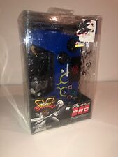 D-Pad Controller Mad Catz Street Fighter V For PlayStation 3 4 PS3 PS4 - Blue