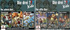 6 CDs * DIE DREI ??? (FRAGEZEICHEN) KIDS-FOLGE 28-33 (BOX 10+11) SET # NEU OVP =