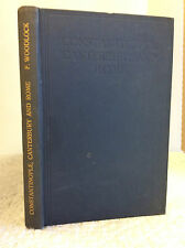 CONSTANTINOPLE, CANTERBURY & ROME By F. Woodlock, S.J. - 1923, vintage Catholic