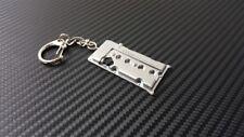 P2M Phase 2 Metal Valve Cover Keychain 240sx S13 S14 KA24 KA24DE DOHC Silver New