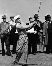 1940 American Champion Golfer BEN HOGAN Glossy 8x10 Photo Golf Swing Print