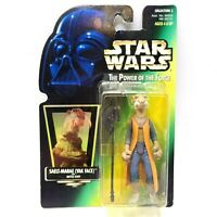 Kenner Star Wars Saelt-Marae Yak Face With Battle Staff Action Figure