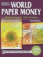New, Standard Catalog of World Paper Money, Modern Issues, 1961-Present, 22nd Ed