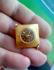 Vintage Beautiful and sexy micro Watch pendant Seagull gilding USSR 1980