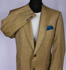 Burberry Blazer Jacket Brown Lightweight Wool 44R SUPERB QUALITY 3230