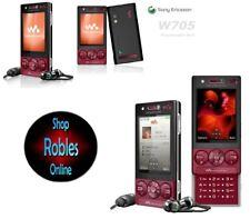 Sony Ericsson W705 Walkman Rot (Ohne Simlock) WLAN 3G 3,2MP MP3 RADIO Rarität