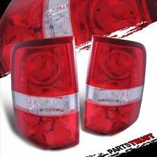 2004 2005 2006 2007 2008 Ford F-150 Pickup Truck Red Rear Brake Tail Lights Pair