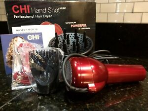 CHI professional hand shot dryer NEW IN OPEN BOX