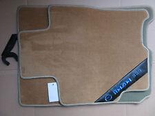 Mazda 323 (BJ) 4&5-Türer,Fußmatten,Velours,Tuftvelour,vorne & hinten,beige,Satz