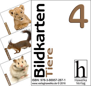 Bildkarten 4 (50 Aktivierungskarten - mit Tiere) - ideal in der Altenpflege