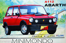 KIT AUTOBIANCHI A112 ABARTH 1/24 FUJIMI 12617 RS10