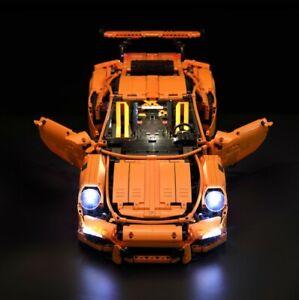 LED lighting Kit for LEGO 42056 Porsche 911GT3 RS Lighting ONLY - AU Seller
