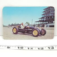 Vintage Postcard 500 Mile Speedway Indianapolis Indiana Lee Wallard