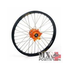 RUOTA COMPLETA KTM SX 250 2006-2013 HAAN WHEELS 1,60 - 21'' mozzo arancione/cerc
