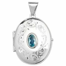 Topaz Unbranded Sterling Silver Fine Necklaces & Pendants