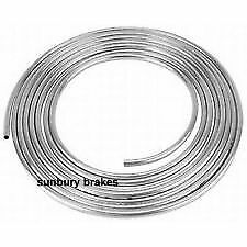 "BUNDY STEEL BRAKE PIPE TUBING   3/16 ""  Dia x 5 Mt ZINC COATED AUST STD"