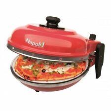Forno pizza elettrico Express Napoli Optima rosso made in Italy 1200W 400 gradi