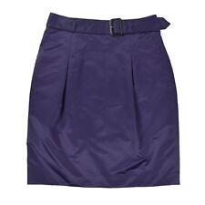BURBERRY Damen Rock L 40 Lila Minirock Woman Skirt NEU