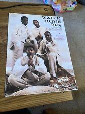 Vintage Sheet Music -  Water Runs Dry, Boyz II Men, Babyface 1994