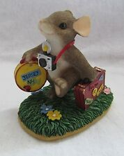 Fitz And Floyd Charming Tails Figurine (Visiting Friends Near )# 97/31 In Box