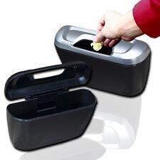 Zento Deals 2 Pk. Car Portable Travel Mini Trash Can Storage Organizer Can Bin