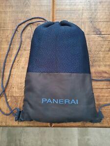 Panerai Large Luxury Blue Beach Towel in Travel Storage Bag New unused.