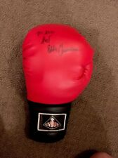 Fast EDDIE Chambers AUTOGRAPHED SIGNED Century BOXING GLOVE Boxer Collectible