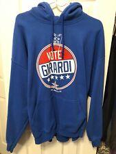 Dan Girardi New York Rangers Hoodie Sweatshirt Size XL