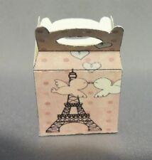 Dollhouse Miniature 1:12 Scale Pink Paris Gift Box (Handled)
