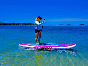 ISUP 11' - Inflatable Paddle Board - Sail Fin Puakai 1-Year Limited Warranty