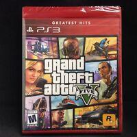 GTA V (Grand Theft Auto 5) (Sony PlayStation 3, 2013) BRAND NEW / Region Free