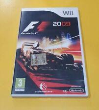 F1 2009 Formula 1 GIOCO NINTENDO WII